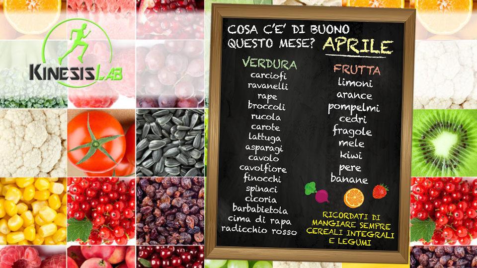 alimenti frutta verdura  aprile